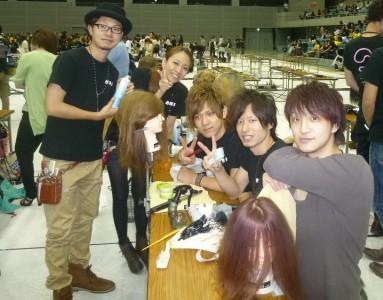コンテスト会場の準備風景 2011-9-12